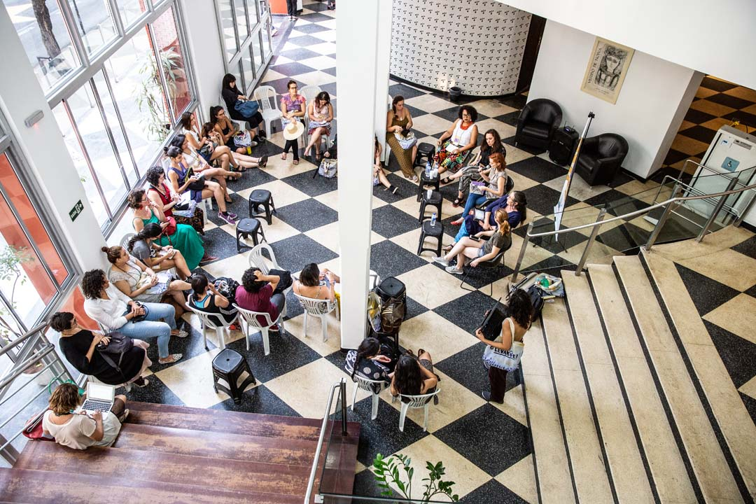 Mesa Vamos Juntas_Sustentabilidade e economia criativa na arte_Credito Fabiana Loyola